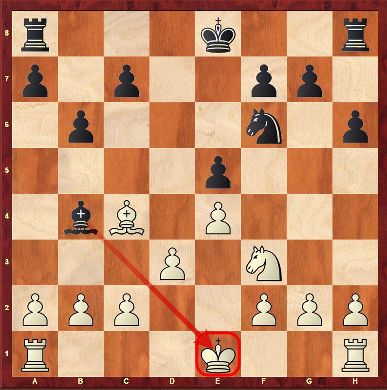 Roszada zabroniona - szach